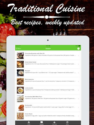 無料健康Appのギリシャ語 食品。迅速かつ簡単クッキング。ベストな料理|記事Game