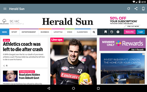 Australia Newspapers- screenshot thumbnail