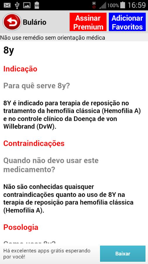 Bulário Bulas de Remédios FREE- screenshot
