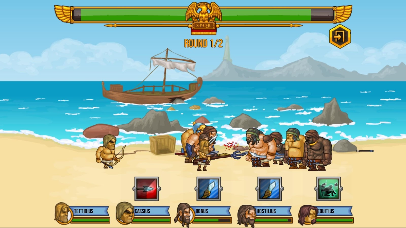 Gods Of Arena: Strategy Game- screenshot