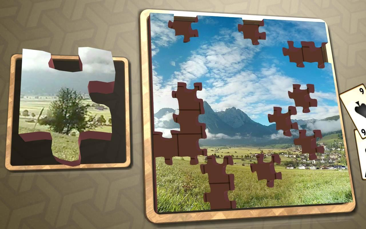 Jigsaw Solitaire - Alpine- screenshot