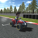 Paw Racing Car Patrol Race icon