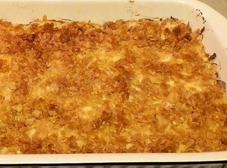 Make sure potatoes ore soft and cheese is bubbly. This dish reheats great;that is...
