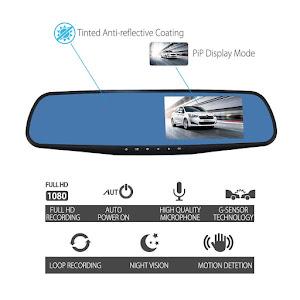 Oglinda retrovizoare cu 2 camere Full HD oferta reducere 6