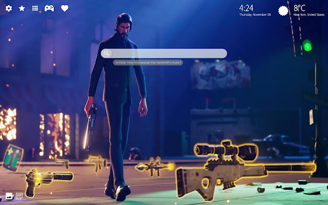 The Reaper Fortnite Background 4k Theme