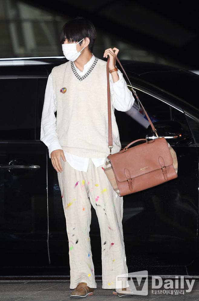 bts v colorful pants 1