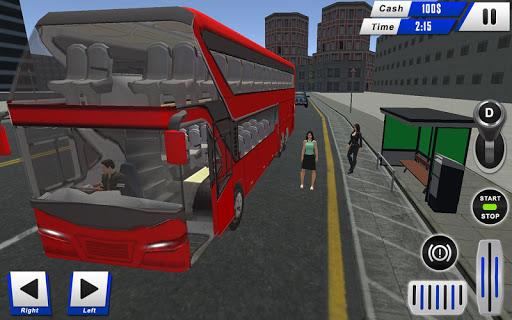 mobile bus driving sim 2018 - tourist coach drive 1.1 screenshots 8
