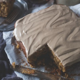 Maple Cake with Maple Cream Cheese Frosting