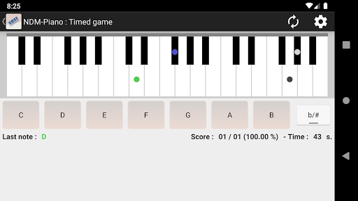 NDM - Piano (Learning to read musical notation)  screenshots 1