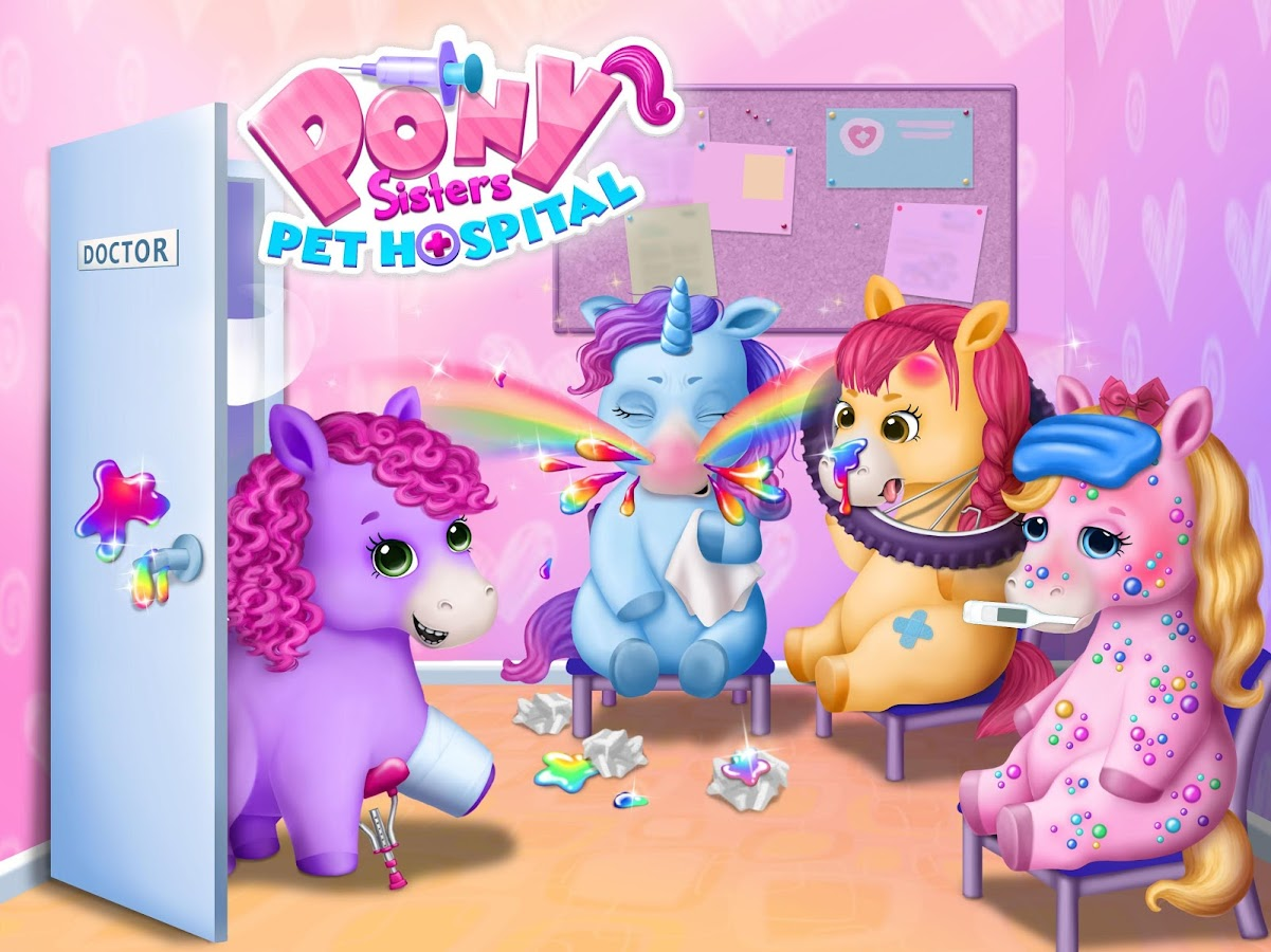 pony sisters pet hospital android apps on google play