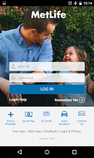 MetLife US App- screenshot thumbnail