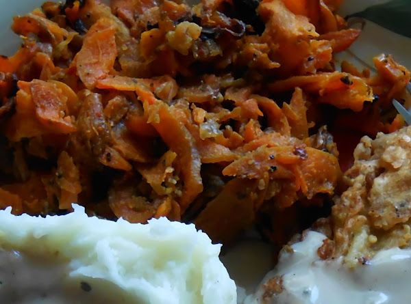 Sweet And Savory Carrots Recipe