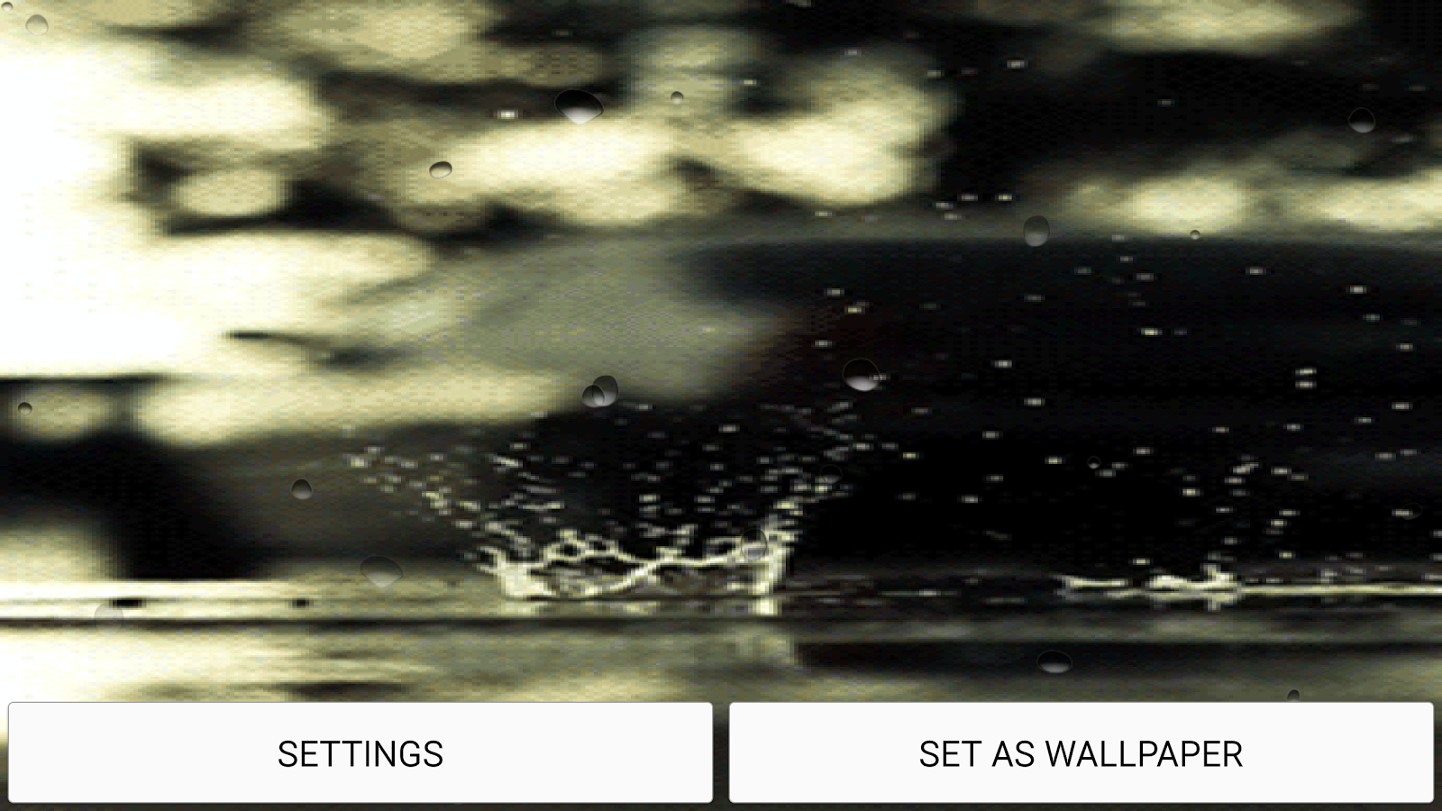 rain live wallpaper with sound android apps on google play