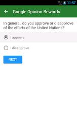 Google Opinion Rewards Screenshot 3