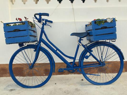 Bici blu con antifurto di annabus58
