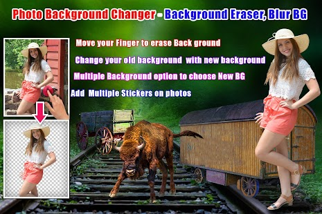 Photo Background Changer - Background Eraser