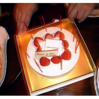 Strawberry Delight Cake.