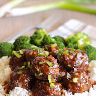Easy Teriyaki Meatballs Recipe