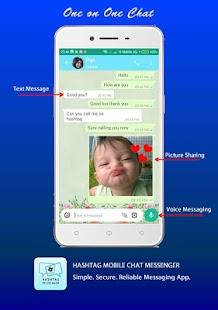 HashTag Mobile Chat Messenger - náhled