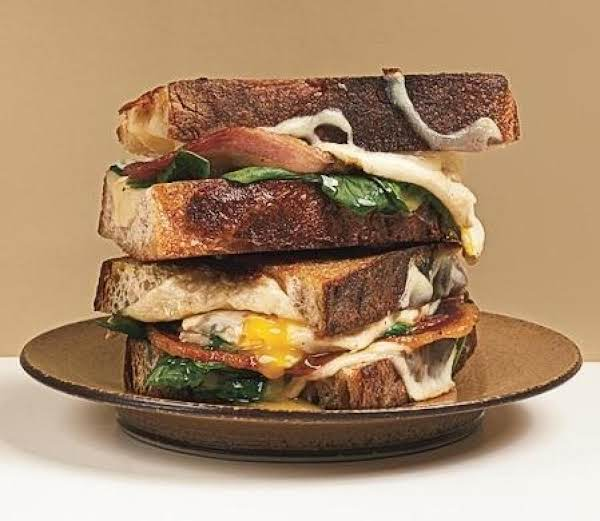 Italian Bacon And Fried Egg Sandwiches Recipe
