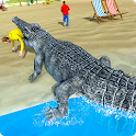Hungry Crocodile Attack 3D: Crocodile Game 2019 icon
