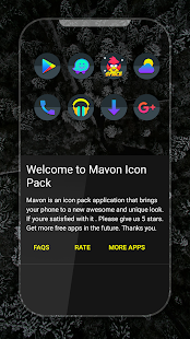 Mavon - Icon Pack Screenshot