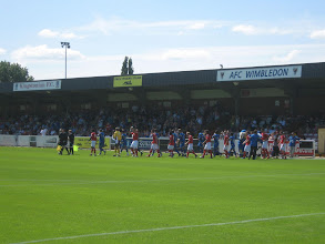 Photo: 10/07/10 v Charlton Athletic (P-S F) 2-0 - contributed by Justin Holmes