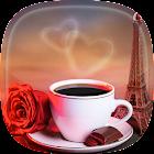 Kaffee Live Hintergrund icon