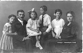 Photo: George C. Kellerbauer and his family — missionaries to India —1895-1914