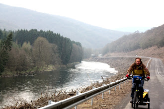Photo: Day 15 - On the Forest Road Alongside the River Meuse