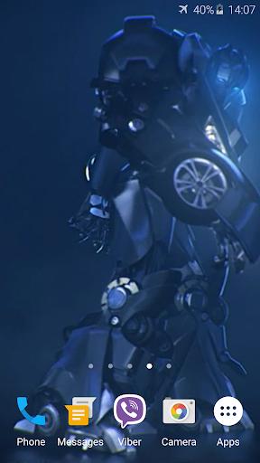 ロボットトランスフォーマー3Dライブ壁紙