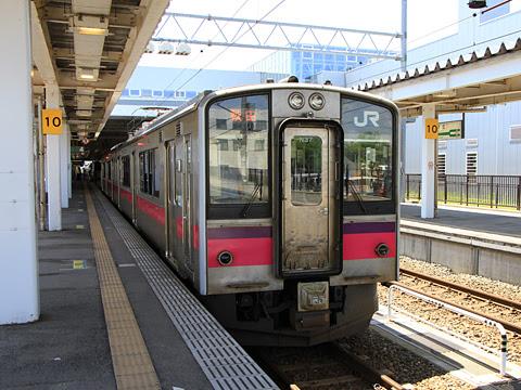 JR東日本 奥羽本線 701系電車(新庄~秋田)