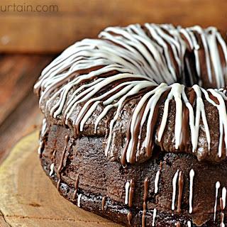 Semi Homemade Triple Chocolate Bundt Cake