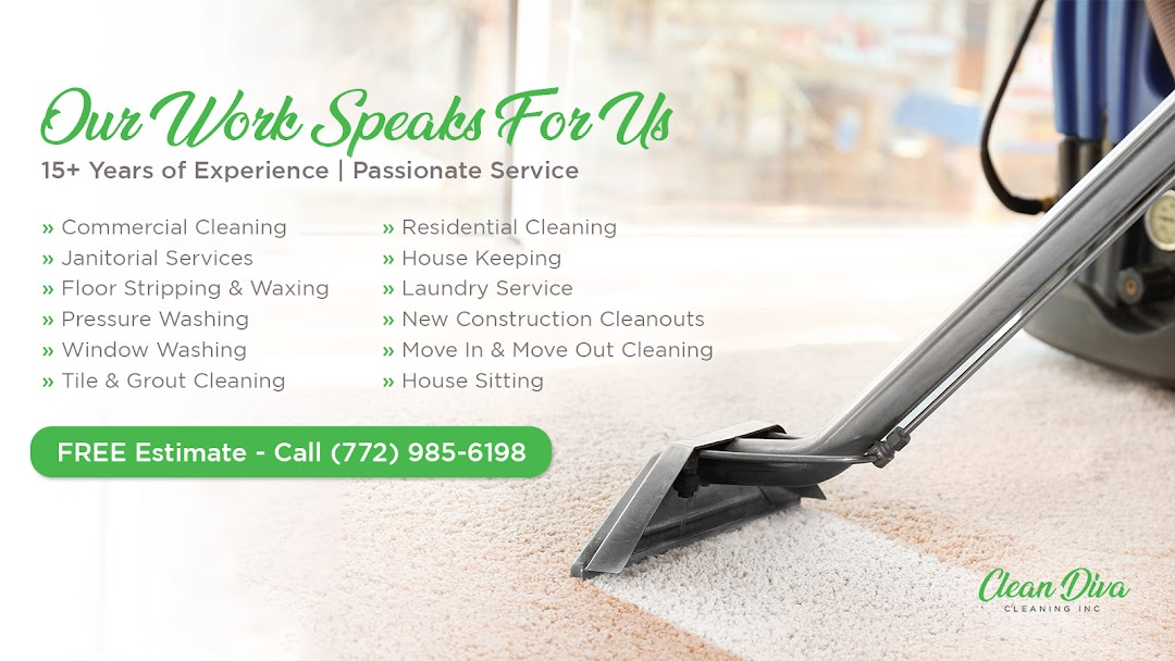 Clean Diva Cleaning Inc  - Commercial Cleaning Service