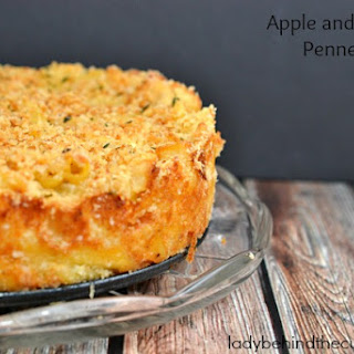 Apple and Cheese Penne Pie