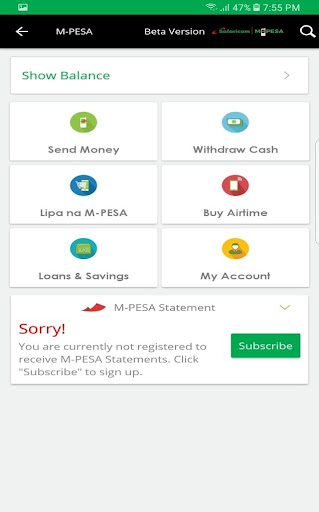 mySafaricom  screenshots 5