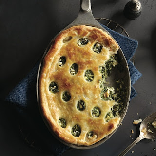 Spinach and Feta Pan Pie.