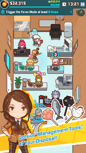 OH~! My Office - Boss Simulation Game 1.5.4 screenshots 2