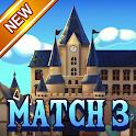 Jewel Royal Castle: Match3 puzzle icon