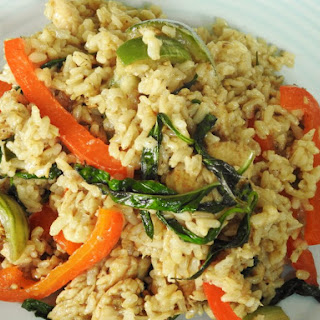 Healthy Thai Green Curry Fried Rice