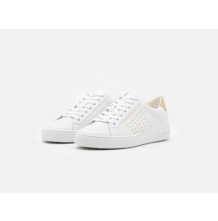 Irving Lace Up, optic white/studs