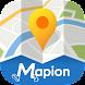 地図マピオン-境界を知ろう (都道府県/市区町村境/町丁目)