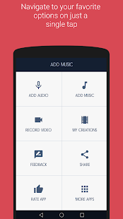 Add Audio/Music to Video - náhled