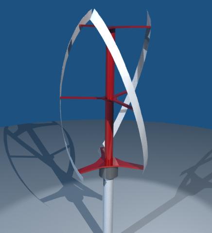 Quietrevolution Vertical-Axis Wind Turbine