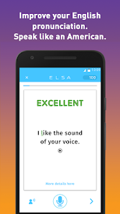 ELSA Speak: Reduce your accent- screenshot thumbnail