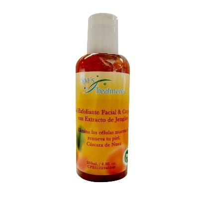 exfoliante treatment jengibre grapefruit 250ml