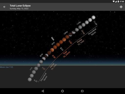 Screenshot for Lunescope: Moon Viewer in Hong Kong Play Store