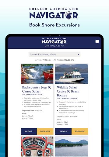 Holland America Line Navigator 1.7.5 screenshots 12