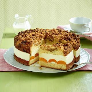 Apricot Strudel Cake.