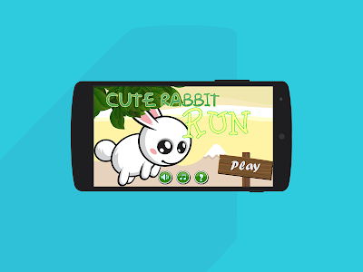 Cute Rabbit Game: Free screenshot 0